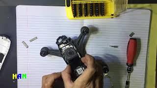 How To Fix Crash  Dji SPARK Gimbal broken| DJI Spark  teardown