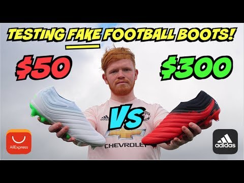 FAKE Vs REAL Adidas FOOTBALL BOOTS! | What's The Difference?