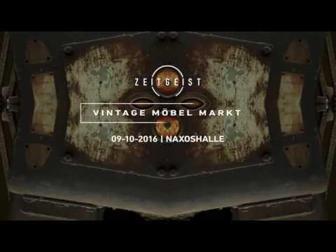 ZEITGEIST Vintage Möbel Markt 09.10.2016 Naxoshalle Frankfurt Teaser No.3