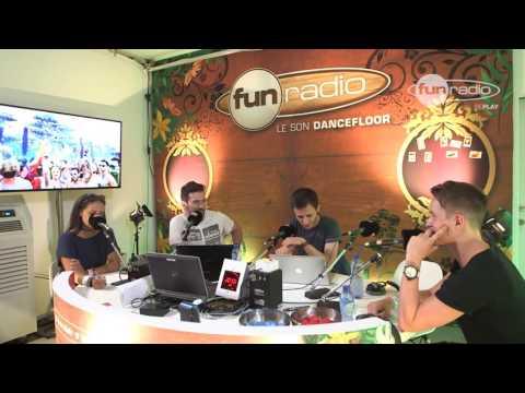Dannic en interview à Tomorrowland chez Fun Radio