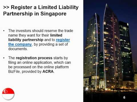 Open a Limited Liability Partnership in Singapore
