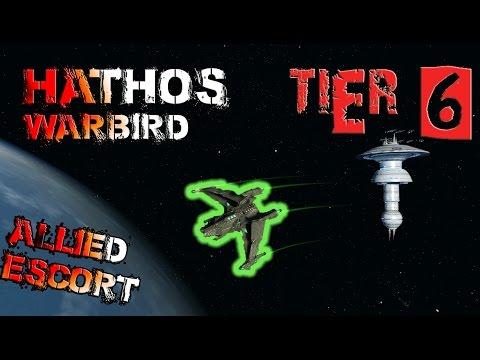 Hathos Warbird [T6] – with all ship visuals - Star Trek Online