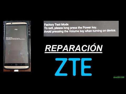 SOLUCIONAR Factory Test Mode (FTM) CONGELADO ZTE AXON | Axel201388