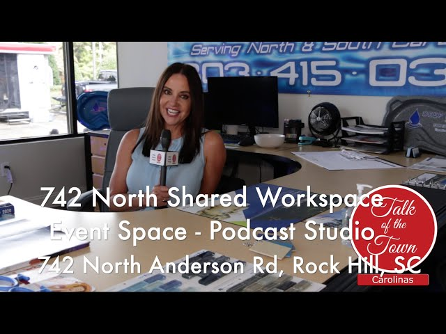 742 North Rock Hill's Shared Workspace