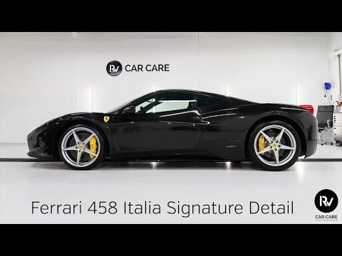 High End Detailing Ferrari 458 Finest Signature Detail