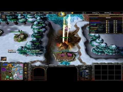 Warcraft 3 Vampirism Ultra Game #12