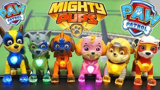 Paw Patrol Mighty Pups New Movie Light Up Superheroes in Adventure Bay!