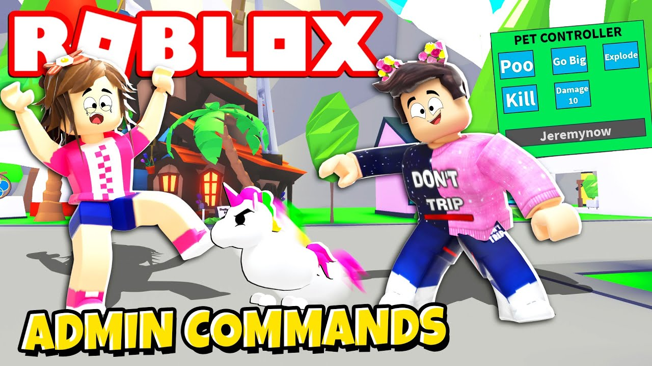 If Adopt Me Had Admin Commands Roblox Minecraftvideos Tv