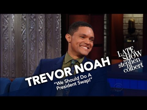 Trevor Noah Compares South Africa's Leaders To America's
