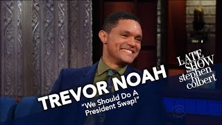 Download Trevor Noah Compares South Africa's Leaders To America's Mp3 and Videos