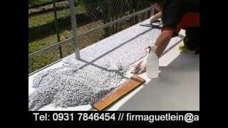 TrendFloor Steinteppich verarbeiten - Selbermachen macht Spaß!