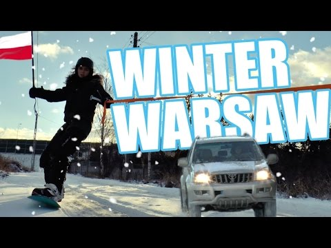 SNOWBOARDING IN WARSAW