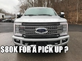 Is it worth $80,000? 2017 Ford Super Duty F-350 PLATINUM Review | 6.7L Power Stroke Diesel