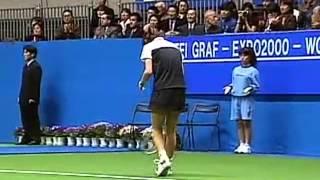 東レPPOテニス 2000年 グラフ引退試合