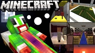 Asleep - CRAZY DREAMS! (Minecraft Roleplay)