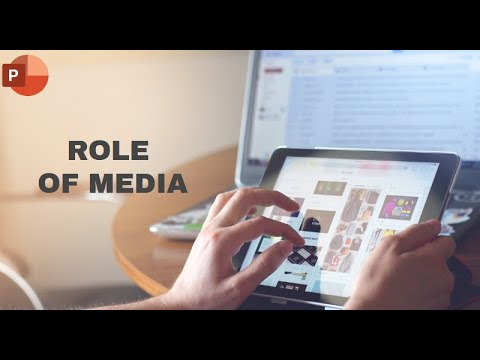 Role Of Media 2020 | Powerpoint Presentation