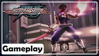 Strider ( 2014 ) Gameplay Comentado no PC