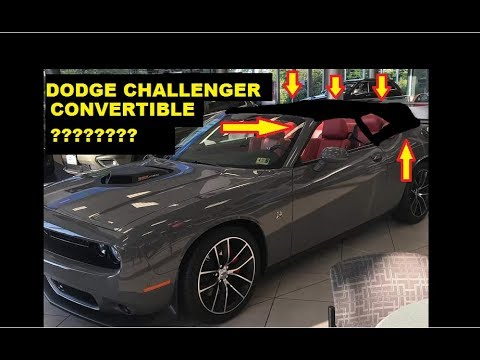 OMG Dodge Challenger Convertible?