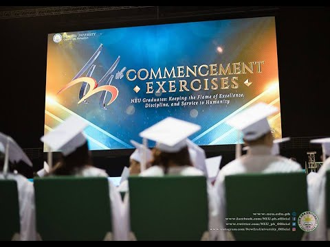 NEU 44th Commencement Exercises (Philippine Arena)
