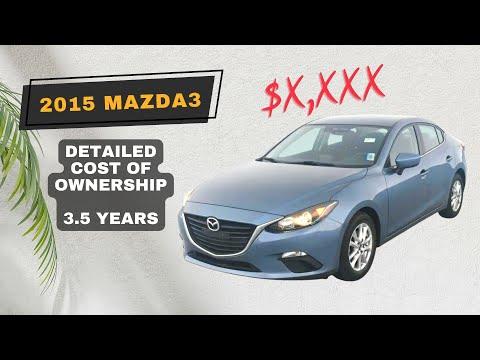 2015 Mazda3 Maintenance Costs   3.5 Years   Timing Cover Leak   Steering Wheel & Infotainment