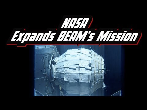 NASA bigelow BEAM expandable activity module will stay on the international space station
