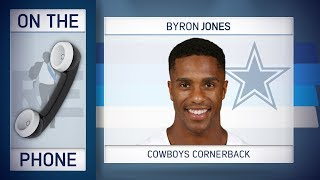 Cowboys' CB Byron Jones Talks Saints, Jason Garrett & More w/Rich Eisen | Full Interview | 11/30/18