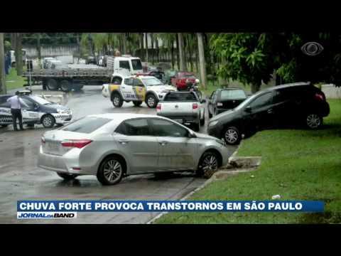 Forte temporal causa transtornos em São Paulo