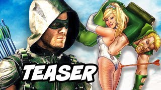 Arrow Season 5 Episode 8 100th Green Arrow Black Canary Wedding Teaser Breakdown