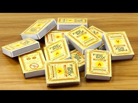 Waste Matchbox reuse idea | Best out of waste | DIY arts and crafts | DIY decorating idea