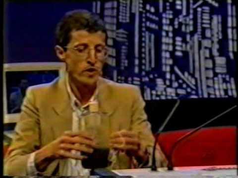 Jô Soares entrevista A. K. T. Assis em 07/09/1998 sobre Mecânica Relacional, SBT