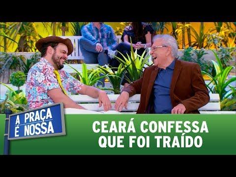 Ceará confessa que foi traído | A Praça é Nossa (31/08/17)
