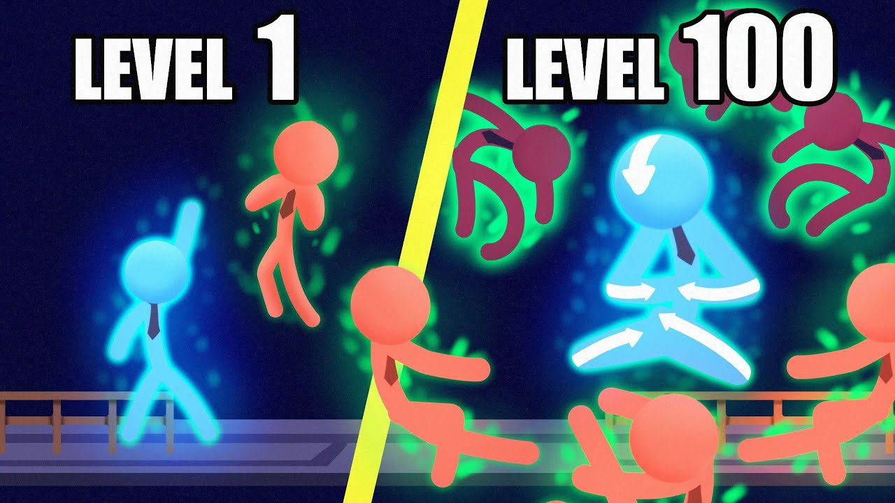 Evolving The Most OVERPOWERED Stickman Ever in Stick It To The Stick Man