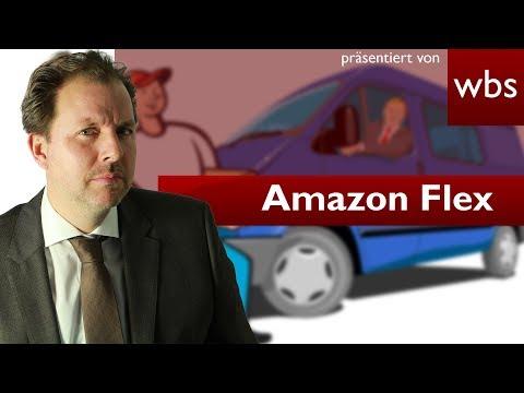 "Amazon Flex - Werden ""flexible"" Paketlieferanten ausgebeutet?   Rechtsanwalt Christian Solmecke"