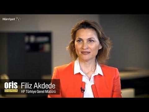 Ofis Dışında - HP Türkiye Genel Müdürü Filiz Akdede