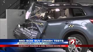 Only two midsize SUVs get top rating in crash tests