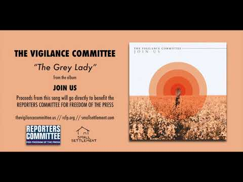"""The Vigilance Committee """"The Grey Lady"""" (Official Audio)"""