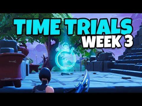 Fortnite: 3 Time Trial Locations, Season 6 Week 3