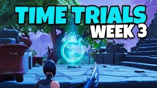 Fortnite: 3 Time Trial Locations, Season 6 Week 3