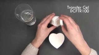 Как сделать перенос изображения Transfer gel Stamperia