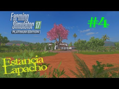 FS17 Platinum Edition | Timelapse Estancia Lapacho #4 | Cultivating, Planting & Moving grass