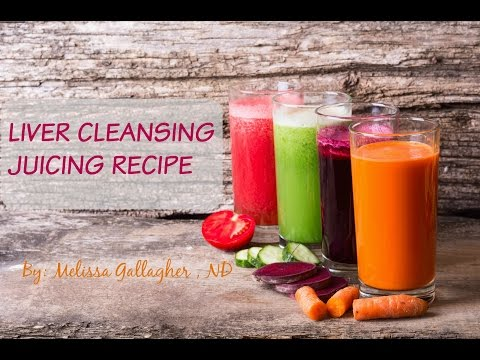 How to Juice The Best Liver Cleansing Detox Green Juice Recipe