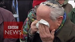 Auschwitz survivors reunited 70 years on