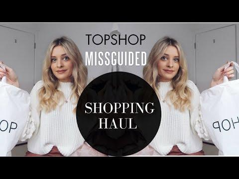 TOPSHOP, MISSGUIDED & MISS SELFRIDGE HAUL   Louise Cooney