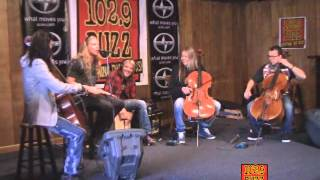 102.9 The Buzz Acoustic Buzz Session: Apocalyptica - End of Me