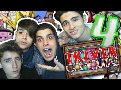TRIVIA DE COMIQUITAS 4 feat. Rafa Arrieta, Ricardo Dias y Rodrigo Villegas