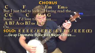 A Day In The Life (Beatles) Banjo Cover Lesson with Chords/Lyrics