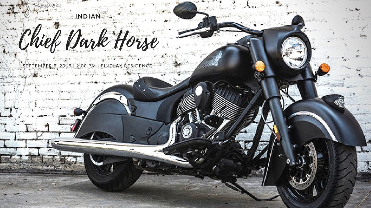 new 2018 indian chief dark horse power cruiser category 1 811 cc youtube. Black Bedroom Furniture Sets. Home Design Ideas
