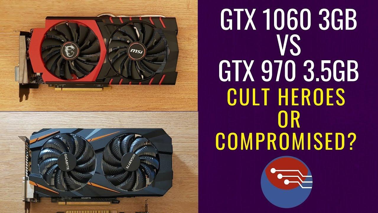 GTX 970 vs GTX 1060 3GB - Controversial Nvidia or Budget Heroes? #GTX970  #GTX1060 benchmark