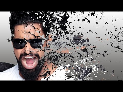 tearing face dispersion effect | Photoshop tutorial cs5/cc