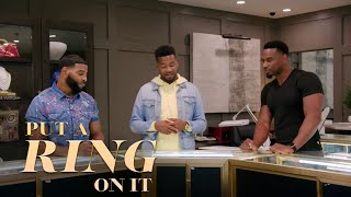The Guys Go Ring Shopping | Put A Ring On It | Oprah Winfrey Network